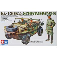 Tamiya Model Kfz. 1/20 K2s Schwimmwagen 1/35 Scale Kit