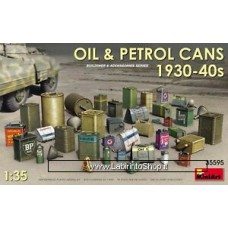 Miniart 35595 - Oil and Petrol Cans 1930-40s 1/35