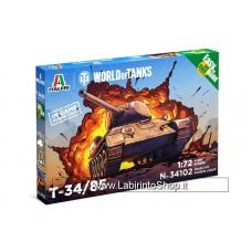 Italeri - 34102 T-34/85 1/72