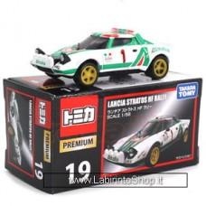Takara Tomy 19 Lancia Stratos HF Rally 1/58