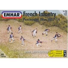 Emhar EM 7216 - 1/72 - Peninsular War 1807-14  French Infantry