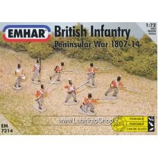 Emhar EM 7214 - 1/72 - Peninsular War 1807-14 British Infantry
