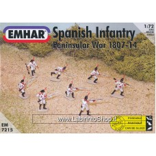 Emhar EM 7215 - 1/72 - Peninsular War 1807-14 Spanish Infantry
