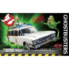 Polar Lights 958 1/25 Ghostbusters Ecto-1 W/Slimer Snaptite