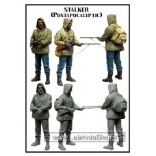 Tuskmodel 1/35 Resin modelIKit Figure Kit Stalker Post Apocalyptic