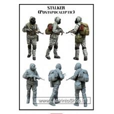 Tuskmodel 1/35 Resin modelIKit Figure Kit Stalker 2 Post Apocalyptic