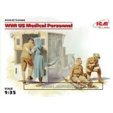 ICM Models 1/35 WWI US Medical Personnel ICM35694