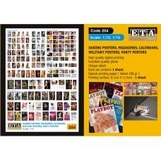 ETA Diorama - 204 - 1/72 - Daring Posters Magazine, Calendars, Military Posters, Party Posters