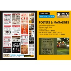 ETA Diorama - 201 - 1/35 - War Zombies Posters Magazine