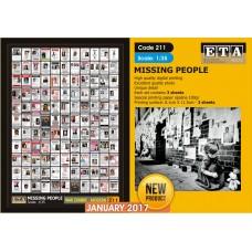 ETA Diorama - 211 - 1/35 - War Zombie - Modern