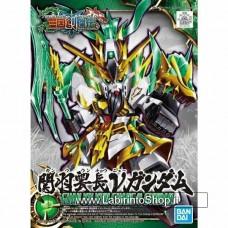 SD Sangoku Soketsuden Guan Yu Yun Change Nu Gundam (Plastic Model Kit)