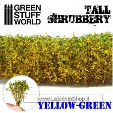 Green Stuff World Tall Shrubbery - Yellow Green