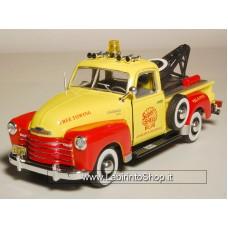 Cararama 1:43 Chevrolet 3100 Pick up (red/ yellow)