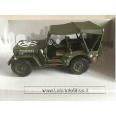Cararama 1/43 - Jeep Willys 4x4 Soft Top