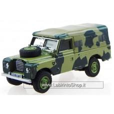 Cararama 1/72 Land Rover Series III 109 (Camouflage)