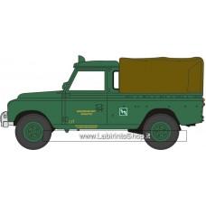 Oxford 76LAN2018 Land Rover Series II LWB Canvas - Southdown 1/72