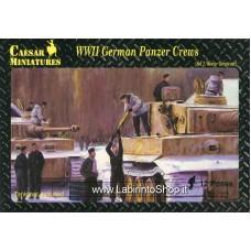 Caesar WWII German Panzer Crews (Set 2 Winter/Greatcoat)