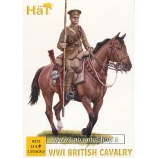 HAT 8272 WWI British Cavalry 1/72