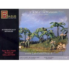 Pegasus Hobbies - 7401 U.S.M.C. in Vietnam - 1:72