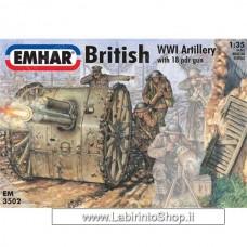 Emhar EM 3502 - 1/35 - British Artillery
