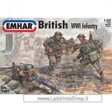 Emhar EM 3501 - 1/35 - WWI British Infantry