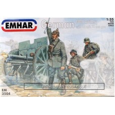 Emhar EM 3504 - 1/35 - WWI German Artillery 77mm Gun