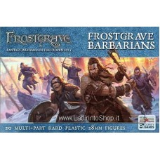 North Star Figures Frostgrave Barbarians 28 mm