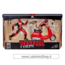 Marvel Legends Series Ultimate Action Figures 15 Deadpool with Scooter