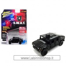 Johnny Lighting - Off Road - Mijo Exclusive - Police S.W.A.T. Humvee (Diecast Car)