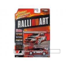 Johnny Lighting - Rally Art - Mijo Exclusive - 2004 Misubishi Lancer Evolution (Diecast Car)