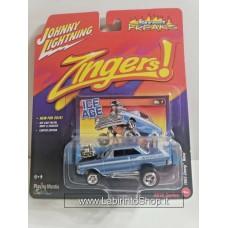 Johnny Lighting - Street Freaks - Zingers - 1963 Chevy Nova (Diecast Car)