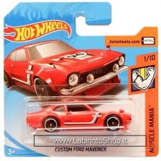 Hot Wheels -  Muscle Mania - Custom Ford Maverick (Diecast Car)