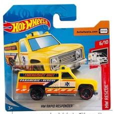 Hot Wheels - HW Rescue - HW Rapid Responder (Diecast Car)