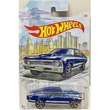 Hot Wheels - Detroit Muscle - 68 Nova (Diecast Car)