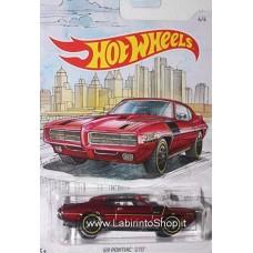 Hot Wheels - Detroit Muscle - 69 Pontiac GTO (Diecast Car)