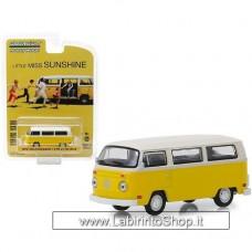 GreenLight 1/64 - Little Miss Sunshine - 1978 VolksWagen Type 2 T2 Bus (Diecast Car)