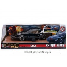 Jada - Hollywood Rides - Knight Rider - K.I.T.T. - with Working Lights (Diecast Car)
