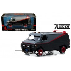GreenLight 1/24 - Hollywood - The A Team - 1983 GMC Vandura (Diecast Car)