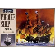 Aoshima 1/100 Pirate Ship (Plastic model)