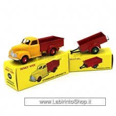 Dinky Toys Studebaker camionnette and Remorque 25mm (Diecast Car)