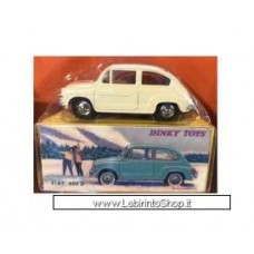 Dinky Toys Fiat 600D, white 25mm (Diecast Car)