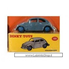 Dinky Toys Volkswagen Beetle, grey-blue 25mm (Diecast Car)