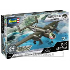 Revell Easy-Click B-25 Mitchell U.S. Bomber Plane Model Kit - Scale 1:72