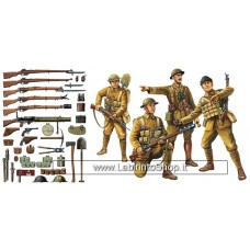 Tamiya 32409 - WWI British Infantry With Small Arms And Equipment Scale 1:35