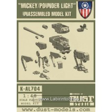 Mickey/Pounder Light Unassembled Model Kit 1/48