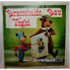 View-Master World - Slides - Braccobaldo Bau e Yoghi - Braccobaldo Nella Luna