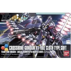 Crossbone Gundam X1 Full Cloth TYPE.GBFT (HGBF) (Gundam Model Kits)
