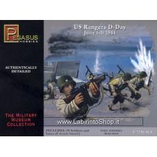 Pegasus Hobbies 1/72 WWII Us Ranger D-Day June 6th 1944