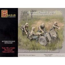 Pegasus Hobbies 1/72 WWII  7510  German 75mm le IG18