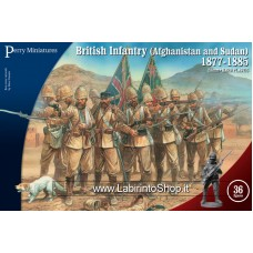 Perry Miniatures: British Infantry Afganistan and Sudan 1877-1885 28mm
